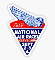 Pegatina 1939 Cleveland Air Races