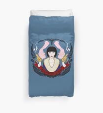 The Honorable Miss Phryne Fisher Duvet Cover