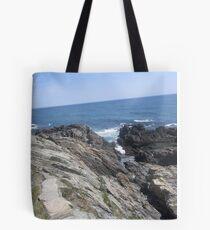 Crevice to the Sea Tote Bag