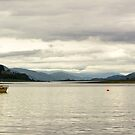Evening light on Loch Etive by DebbyScott