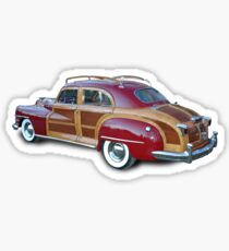 Classic Woody Car Sticker