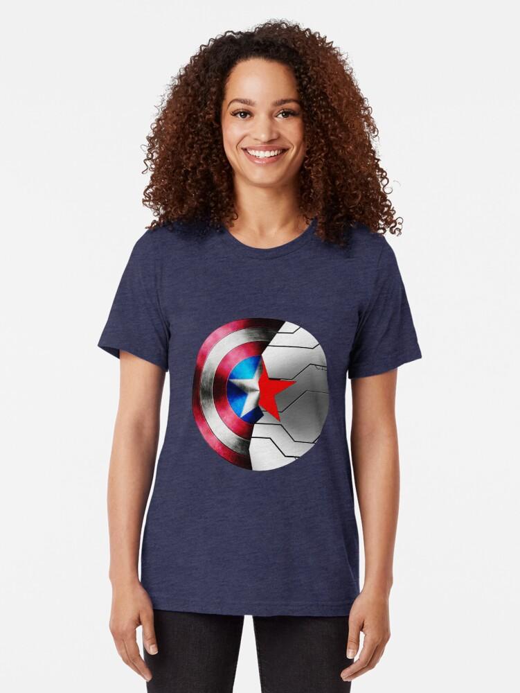 Vista alternativa de Camiseta de tejido mixto Buck Rogers
