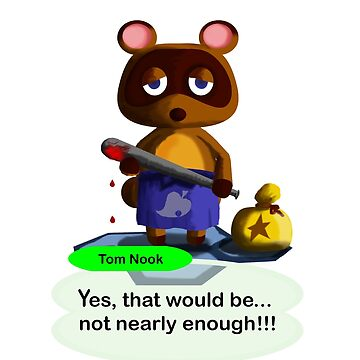 Don't Cross Tom Nook by sswoodruff89