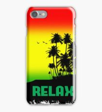 Rasta Relax iPhone Case/Skin