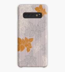 Linear flowers Case/Skin for Samsung Galaxy