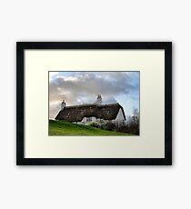 On The Way Home - Uplyme,Devon,UK Framed Print