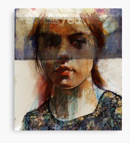 digital Annie Canvas Print