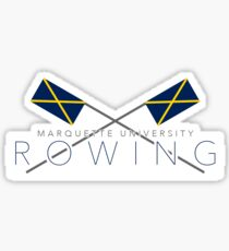 Marquette University Rowing Sticker