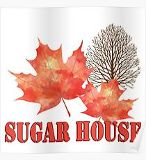 Maple Syrup Sugar House Poster