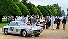 HRH Prince Michael of Kent tours the Concours of Elegance 2014 by MarcW