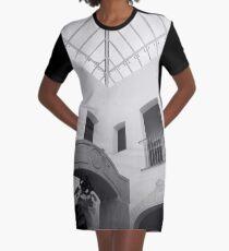 Casa de Cultura Graphic T-Shirt Dress