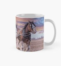 Working Clydesdale Horses Mug