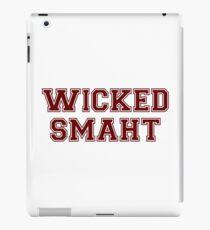 Wicked Smart (Smaht) College Boston iPad Case/Skin