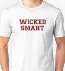 Camiseta ajustada Wicked Smart (Smaht) College Boston