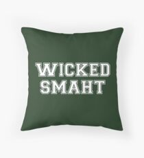 Wicked Smart (Smaht) College Boston Dekokissen