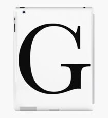 The Letter 'G' iPad Case/Skin