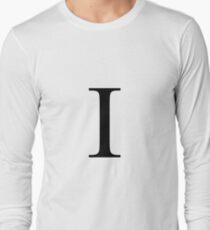 The Letter 'I' Long Sleeve T-Shirt