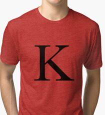 The Letter 'K' Tri-blend T-Shirt