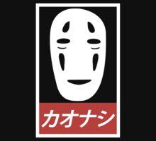 No Face - Spirited Away // Obey Parody Kids Tee