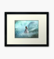 Looking Down To Earth Framed Print