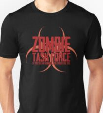 Zombie Task Force Red Unisex T-Shirt