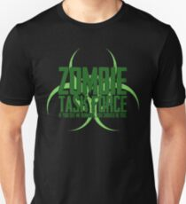 Zombie Task Force Green Unisex T-Shirt