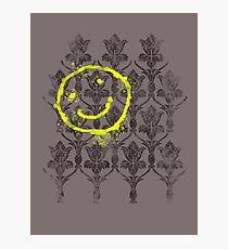 221B wallpaper Photographic Print