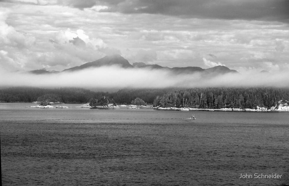 Coastline BC CN by John Schneider