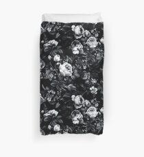 Funda nórdica Rosas en blanco y negro