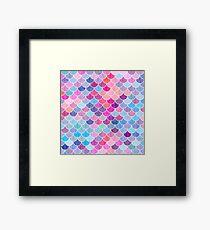 Watercolor Lovely Pattern XVI Framed Print