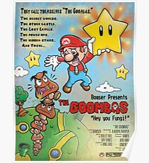 The Goombas (blue version) Poster