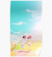 Spirited Away Love Poster