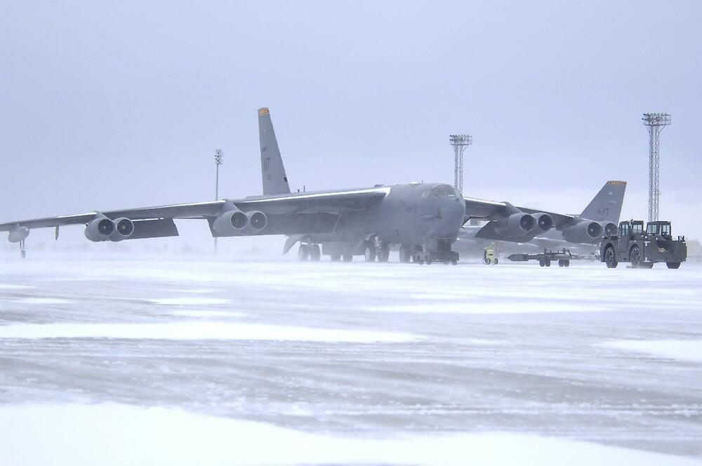 Snow 'birds' B-52s by Bomark2076WY