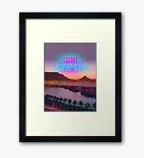San Junipero - Black Mirror Framed Print