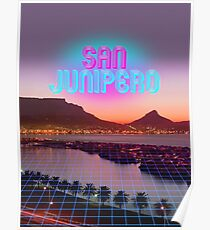 San Junipero - Black Mirror Poster