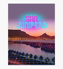 San Junipero - Black Mirror Photographic Print