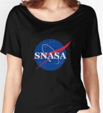 SNASA Women's Relaxed Fit T-Shirt