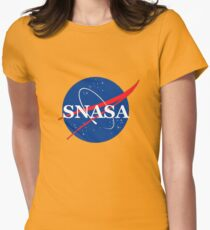 SNASA Womens Fitted T-Shirt