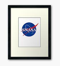 SNASA Framed Print
