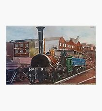Mosi Train Painting Photographic Print
