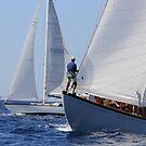Classic Sailboat regatta by Alessandra Antonini