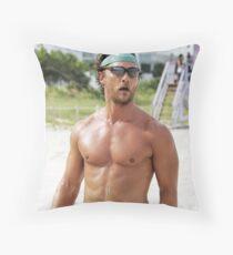 Matthew McConaughey Throw Pillow