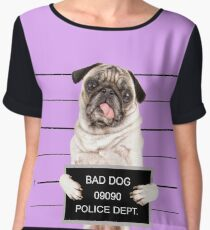 Bad Dog Women's Chiffon Top