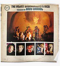The Velvet Underground & Nico, Mono Back cover ORIGINAL Poster