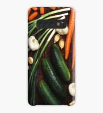 Funda/vinilo para Samsung Galaxy Healthy Vegetables