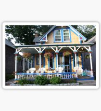 Gingerbread house. Sticker
