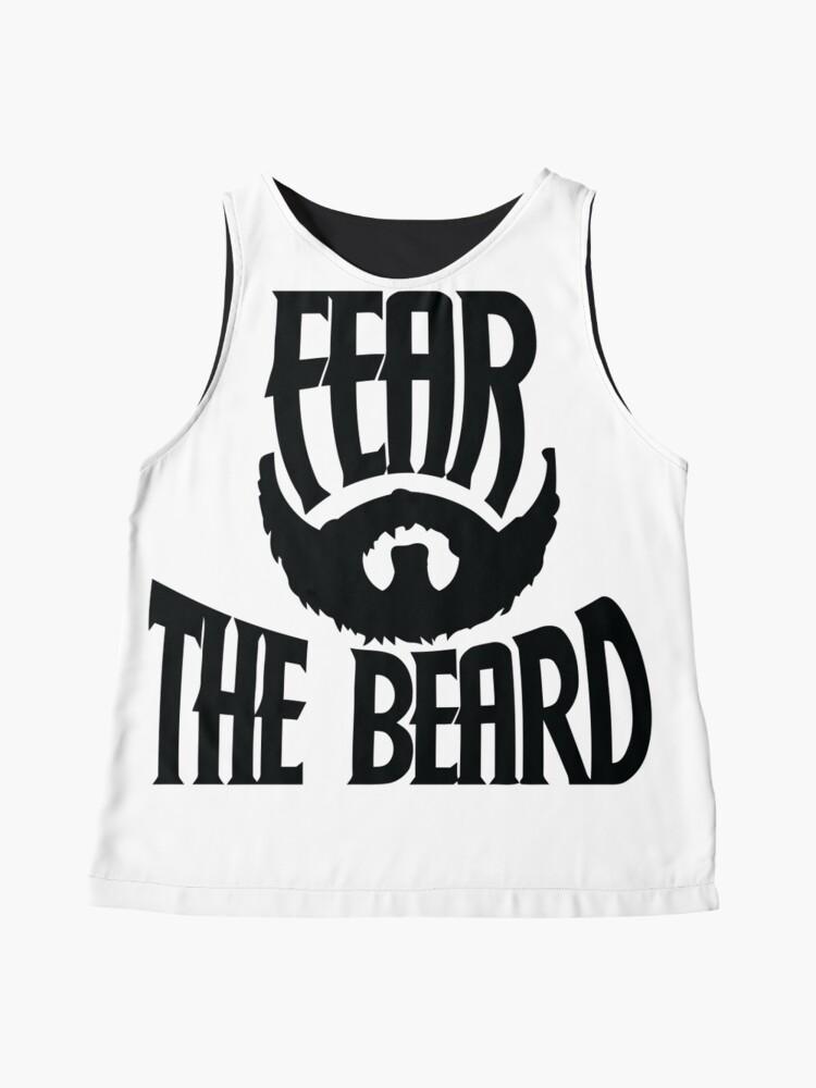 Vista alternativa de Blusa sin mangas Temer la barba
