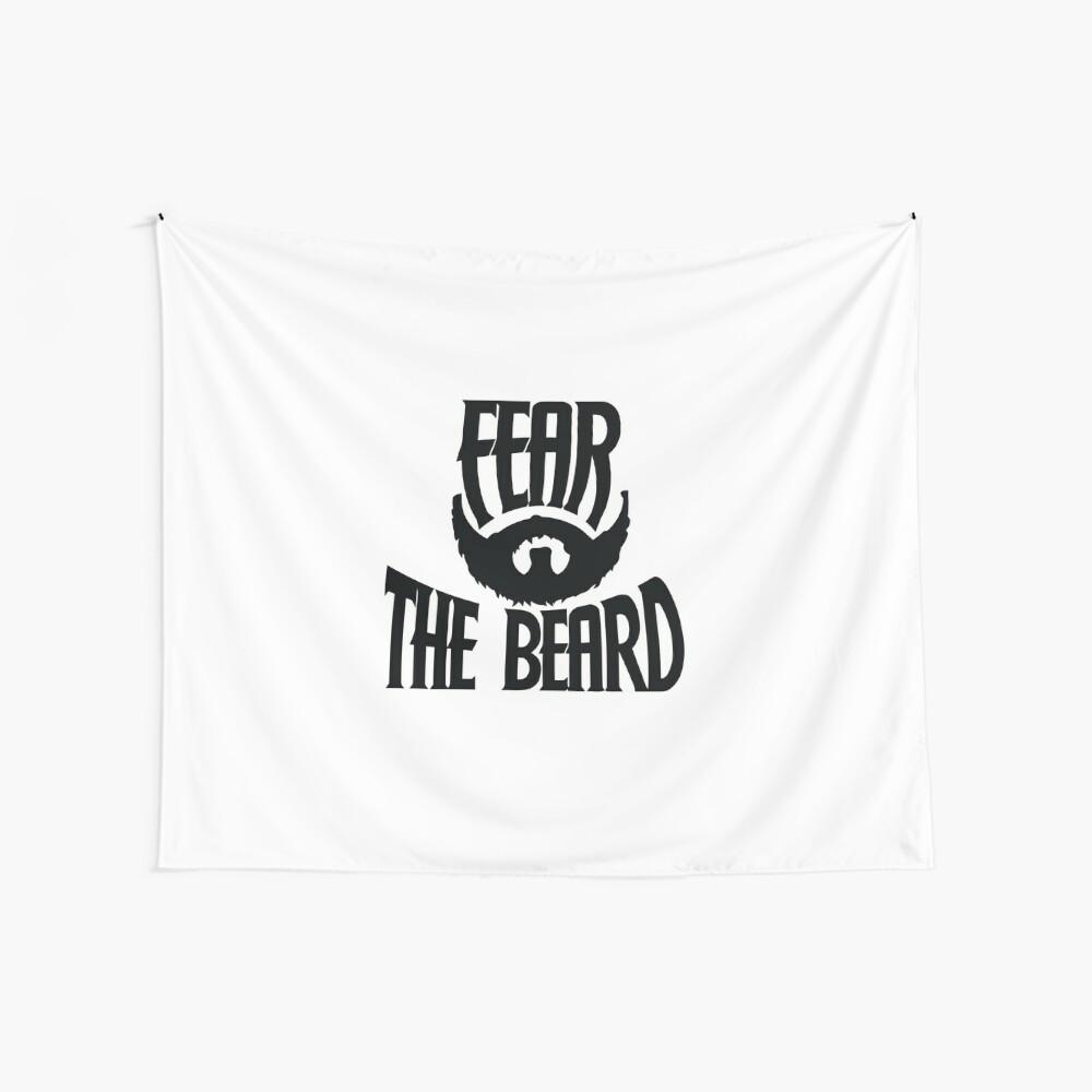 Temer la barba Tela decorativa
