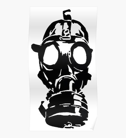GAS MASK ver 0001 Poster