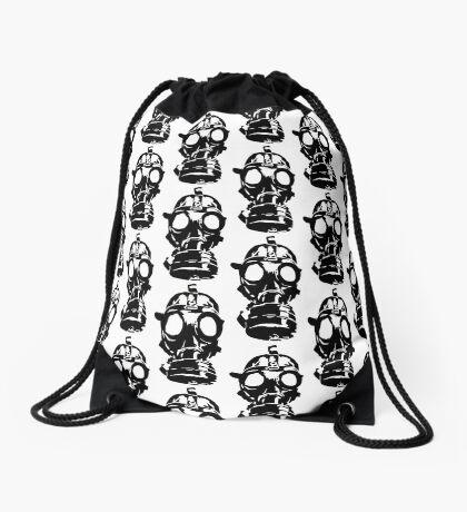 GAS MASK ver 0001 Drawstring Bag